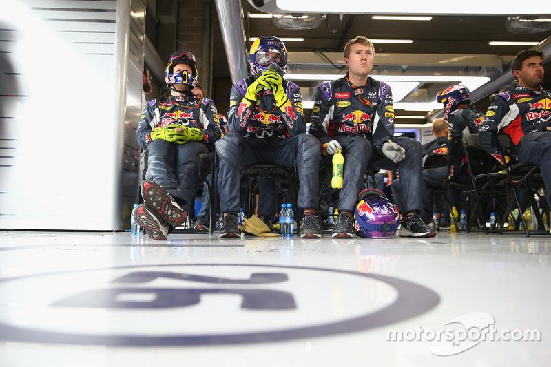 Para mekanik Red Bull Racing