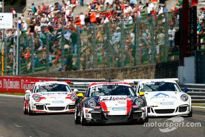 Sébastien Loeb nella Porsche Supercup a Spa