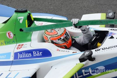 Test in Donington, August
