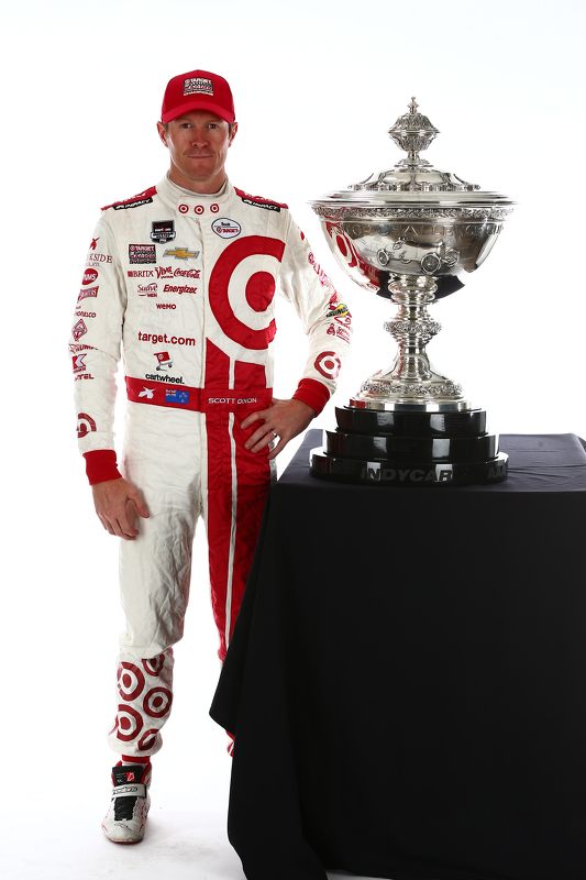 Titelkandidaat  Scott Dixon, Chip Ganassi Racing Chevrolet