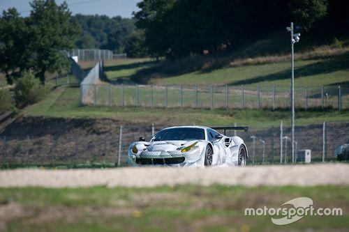 Ferrari 488 GTE testi
