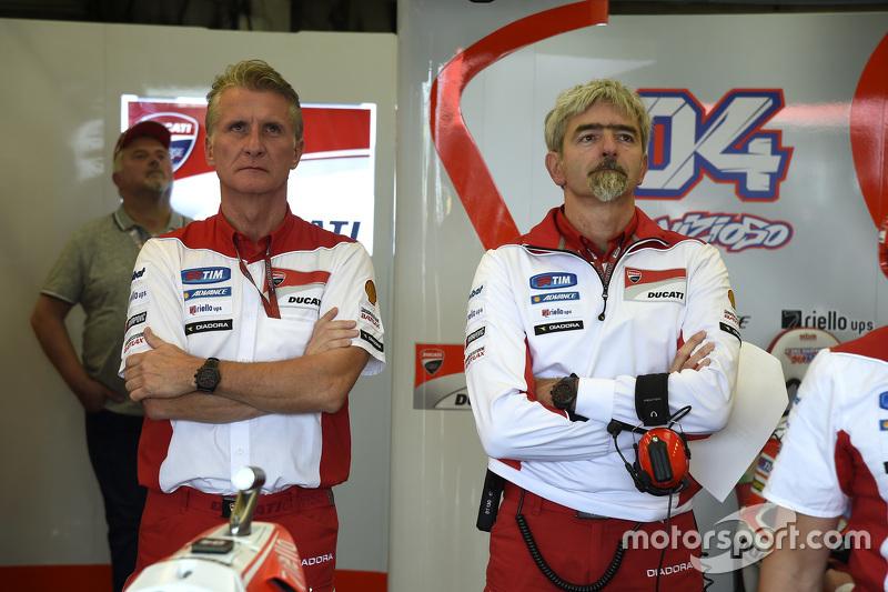 Paolo Ciabatti та Luigi Dall'Igna, Ducati Team