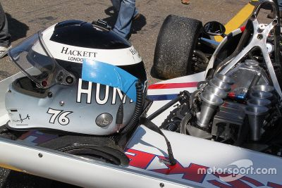 Freddie Hunt in his father's Hesketh