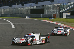 #8 Audi Sport Team Joest Audi R18 e-tron quattro: Lucas di Grassi, Loic Duval, Oliver Jarvis and #7