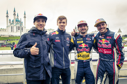 Red Bull:  Showrun in Kazan, Russland