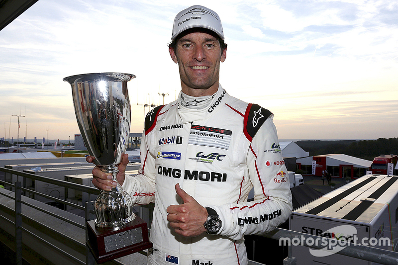 1. Mark Webber, Porsche Team