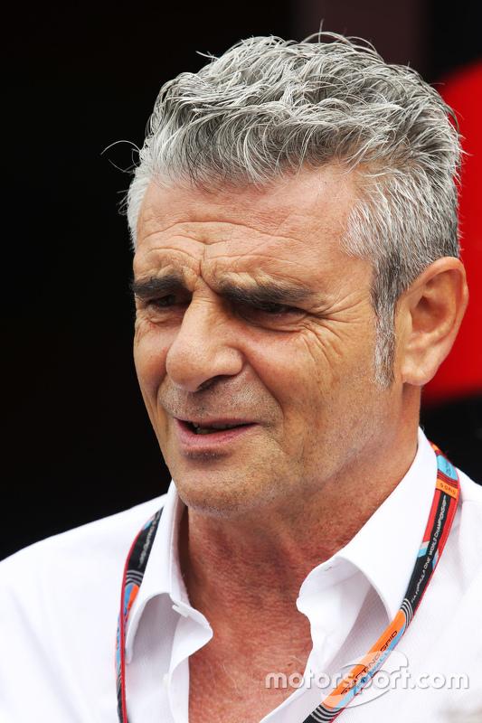 Maurizio Arrivabene, Directeur de l'équipe Ferrari