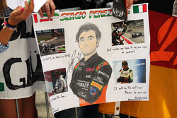 Sergio Perez, Sahara Force India F1 fans spandoek