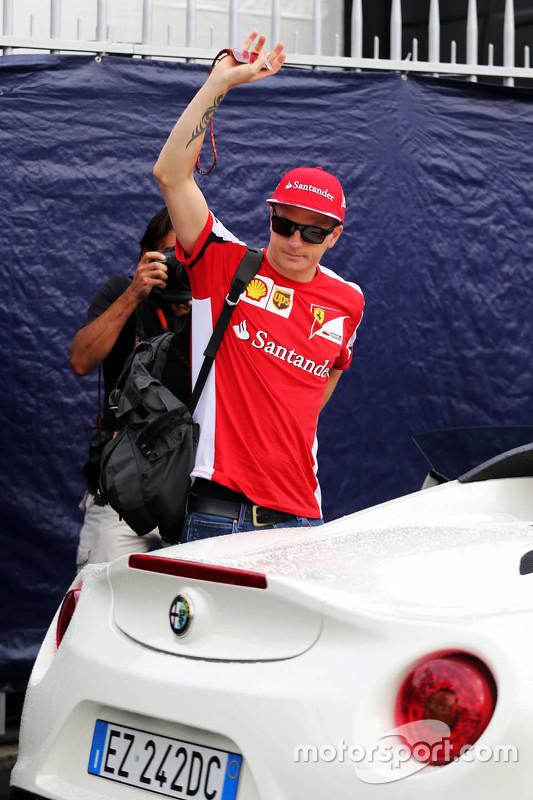 Kimi Raikkonen, Ferrari com seu Alfa Romeo