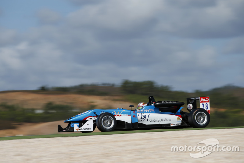 Raoul Hyman, Team West-Tec F3, Dallara F312 - Mercedes-Benz