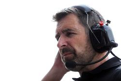 Greg Baker, chef mécano, Lotus F1 Team