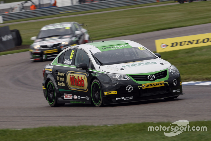 Robb Holland, Handy Motorsport Toyota Avensis
