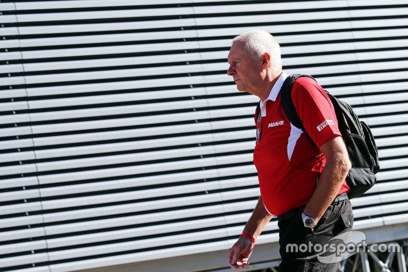 John Booth, Manor F1 Team, Teamchef