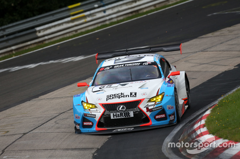 #55 Farnbacher Racing Lexus RC-F GT3: Dominik Farnbacher, Маріо Фамбахер