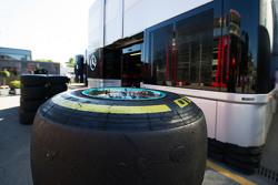 Pneumatico Pirelli della  Mercedes AMG F1