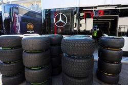 Neumáticos Pirelli para Mercedes AMG F1