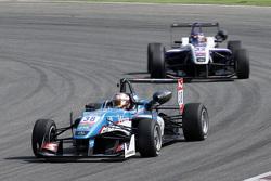 Raoul Hyman, Team West-Tec F3 Dallara Mercedes-Benz et Zhi Cong Li, Fortec Motorsports Dallara Mercedes-Benz
