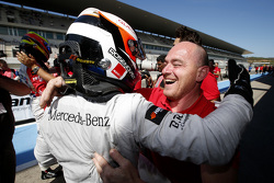 1. im 3. Rennen: Felix Rosenqvist, Prema Powerteam Dallara Mercedes-Benz