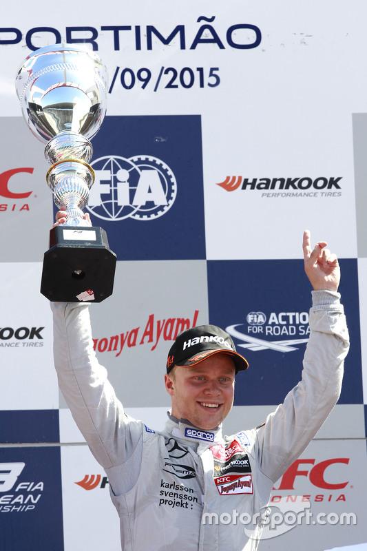 Race 3 winner Felix Rosenqvist, Prema Powerteam