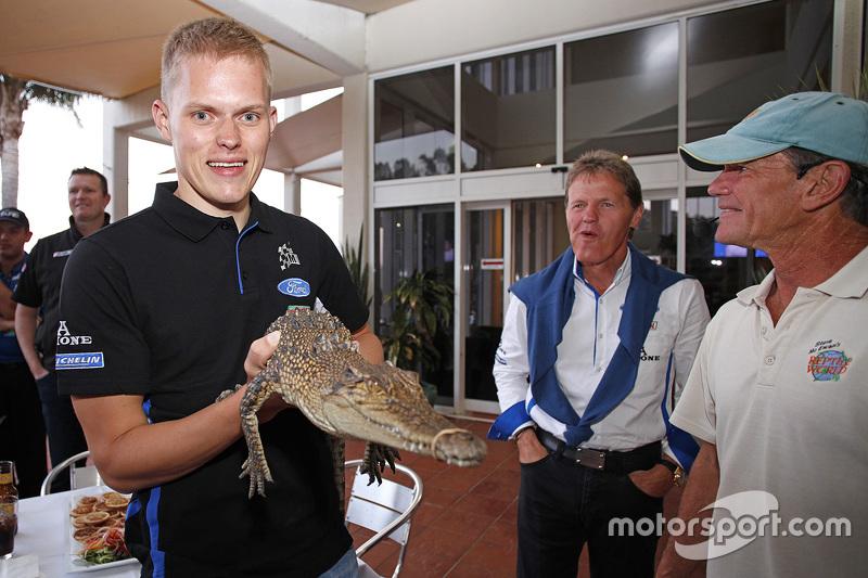 Отт Танак, M-Sport та a crocodile