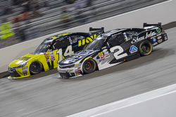 Cale Conley, TriStar Motorsports Toyota and Brian Scott, Richard Childress Racing Chevrolet