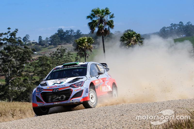 Hayden Paddon und John Kennard, Hyundai i20 WRC, Hyundai Motorsport