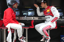 Miguel Molina, Audi Sport Team Abt Audi RS 5 DTM and Adrien Tambay, Audi Sport Team Abt Sportsline Audi RS 5 DTM