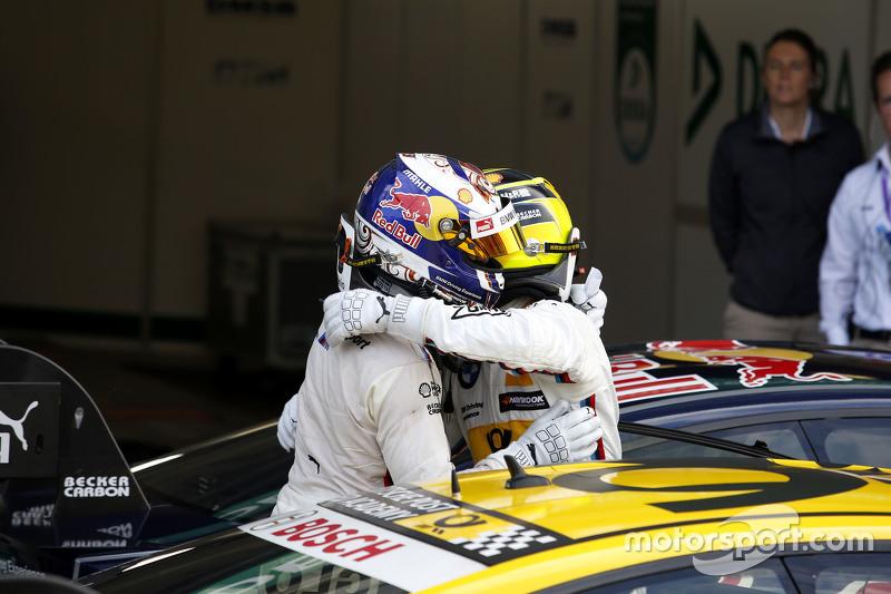 Antonio Felix da Costa, BMW Team Schnitzer BMW M4 DTM and winner Timo Glock, BMW Team MTEK BMW M3 DT