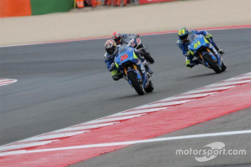 Маверік Віньялес та Алеїч Еспаргаро, Team Suzuki MotoGP