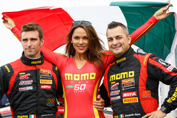 Alessandro Pier Guidi (left) and Alessandro Balzan (right) NGT Motorsport
