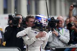 Kazanan Tom Blomqvist, BMW Takımı RBM BMW M4 DTM