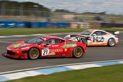 #21 Rosso Verdi Ferrari 458 Italia Hector Lester, Benny Simonsen