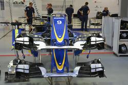 La nueva nariz de Sauber