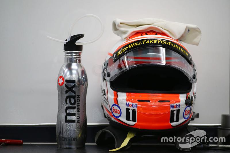 Fer Helm von Jenson Button, McLaren