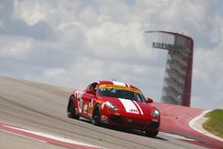 #87 Rebel Rock Racing Porsche Cayman: Jim Jonsin, Remo Ruscitti