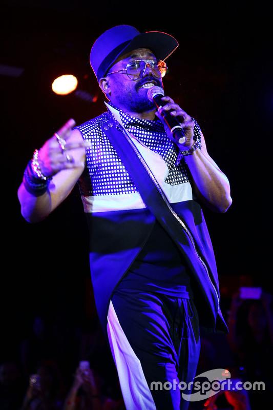 Apl.de.ap, Black Eyed Peas op de Amber Lounge Fashion Show