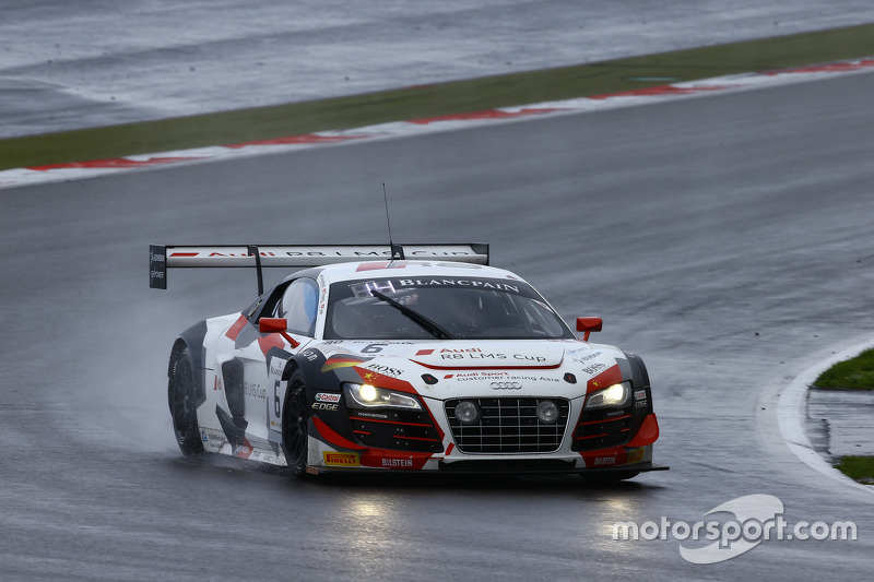 #6 Phoenix Racing Audi R8 LMS ultra: Marchy Lee, Shaun Thong, Маркус Вінкелхок