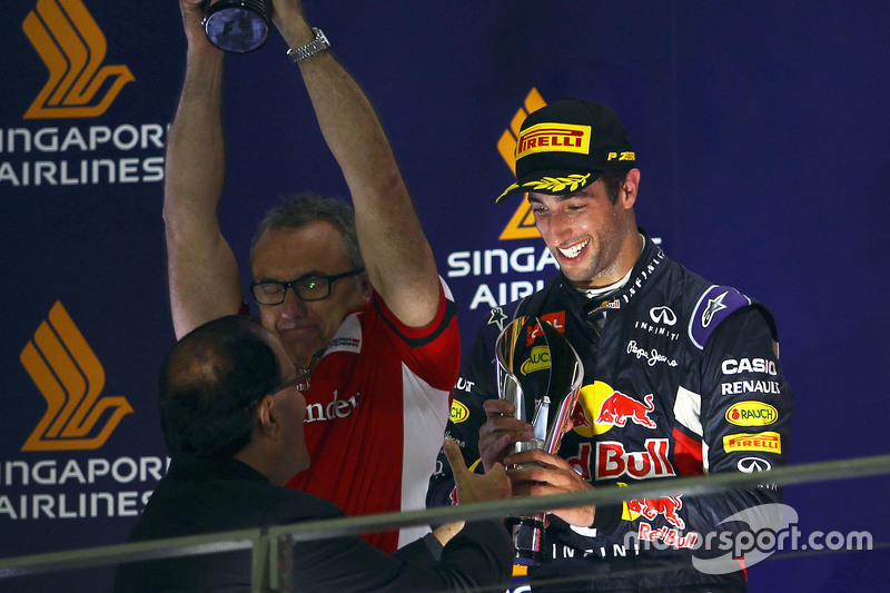 2015 - Grand Prix von Singapur: Daniel Ricciardo, Red Bull Racing RB 11