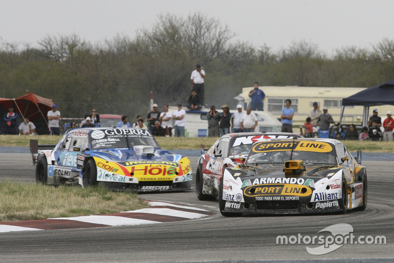 Leonel Pernia, Las Toscas Racing Chevrolet and Matias Rossi, Donto Racing Chevrolet and Josito di Palma, CAR Racing Torino