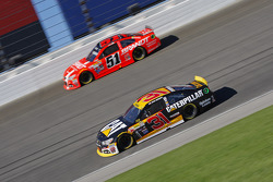 Ryan Newman, Richard Childress Racing Chevrolet; Justin Allgaier, HScott Motorsports Chevrolet