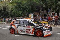 Stefano Baccega e Marco Menchini, Bernini Rally
