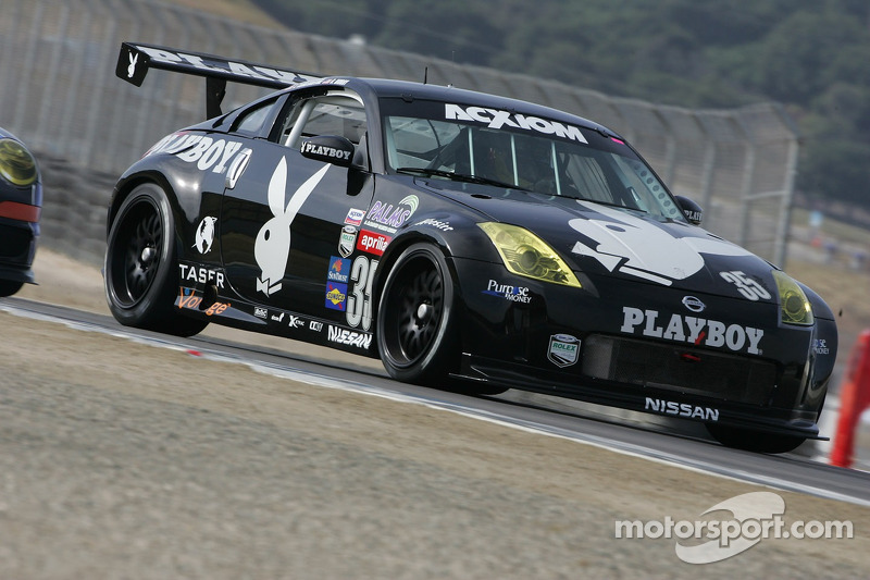 #35 Playboy Racing Unitech Nissan 350Z: Tommy Constantine ...