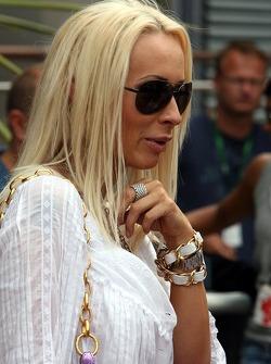 Cora Schumacher, femme de Ralf Schumacher