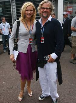 Veronica Ferres, Actress and Martin Krug her husband