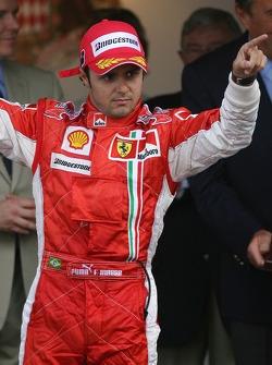Podium: 3rd place Felipe Massa, Scuderia Ferrari