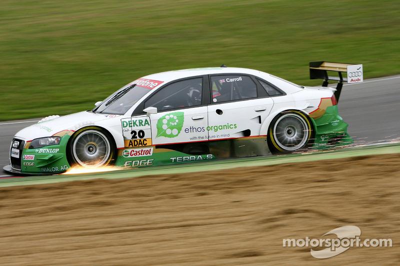 DTM, Brands Hatch 2007: Adam Carroll, Futurecom, Audi A4