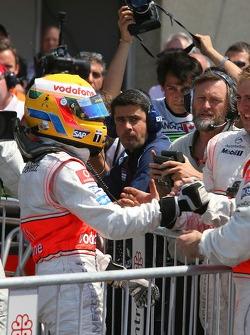 Lewis Hamilton, McLaren Mercedes gets pole position