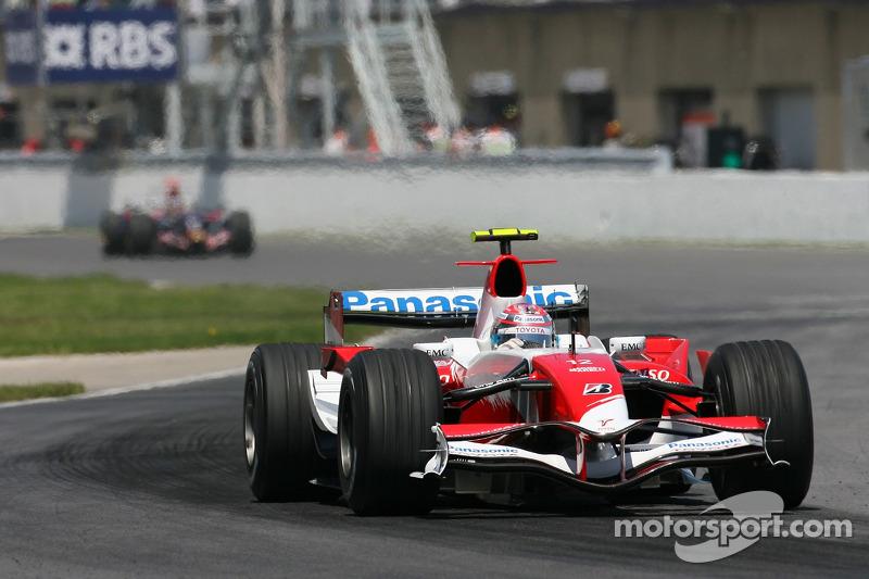 #12: Ярно Труллі, Toyota Racing, TF107