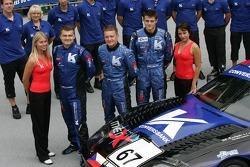 #67 Convers Menx team Ferrari 550 Maranello: Alexei Vasiliev, Tomas Kostka