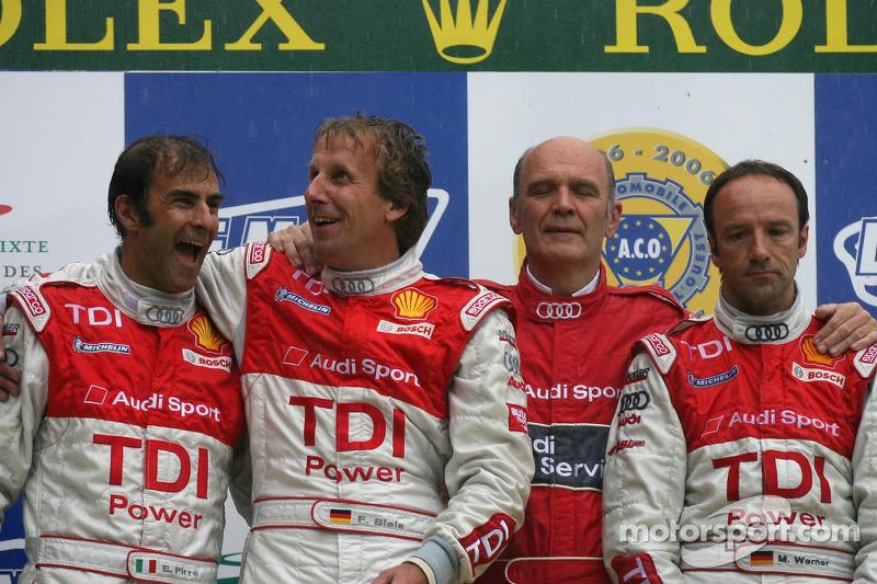 2007: Marco Werner, Frank Biela, Emanuele Pirro